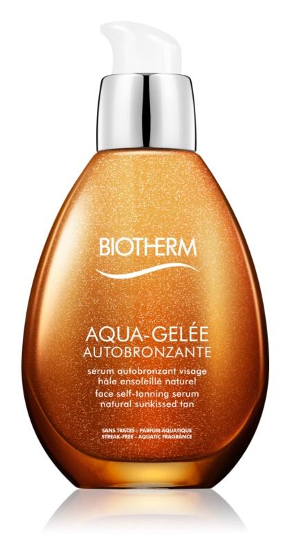 Biotherm Aqua-Gelée Autobronzante ορός αυτομαυρίσματος για πρόσωπο