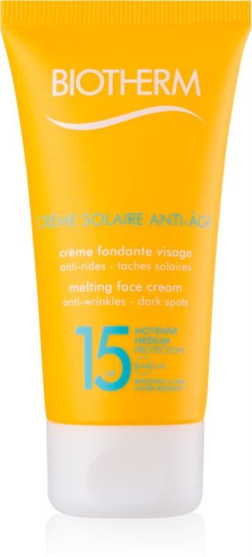 Biotherm Crème Solaire Anti-Âge крем проти зморшок для засмаги SPF 15