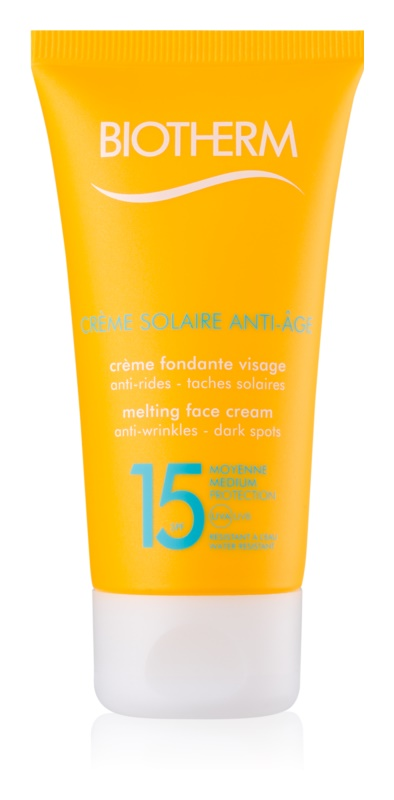 Biotherm Crème Solaire Anti-Âge Anti - Wrinkle Sun Cream SPF 15