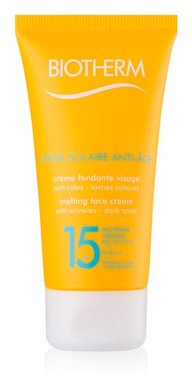 Biotherm Crème Solaire Anti-Âge protivráskový krém na opalování SPF 15