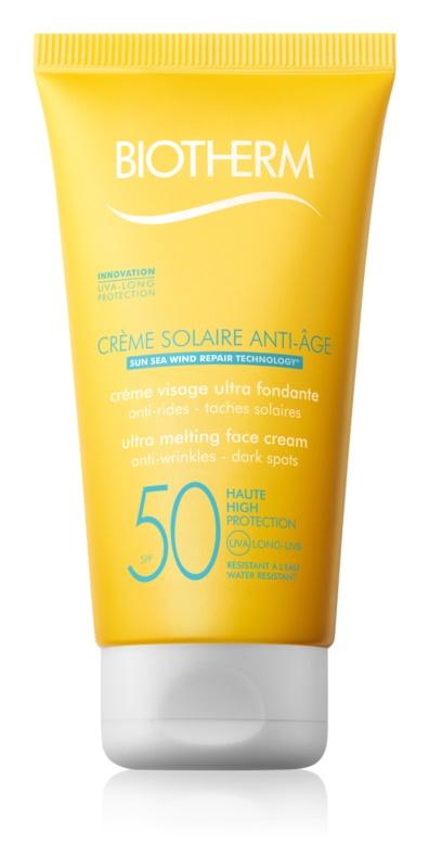 Biotherm Crème Solaire Anti-Âge Anti-Rimpel Zonnebrandcrème SPF 50