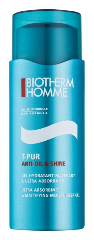Biotherm Homme T-Pur Anti-oil & Shine mattító gél hidratáló hatással