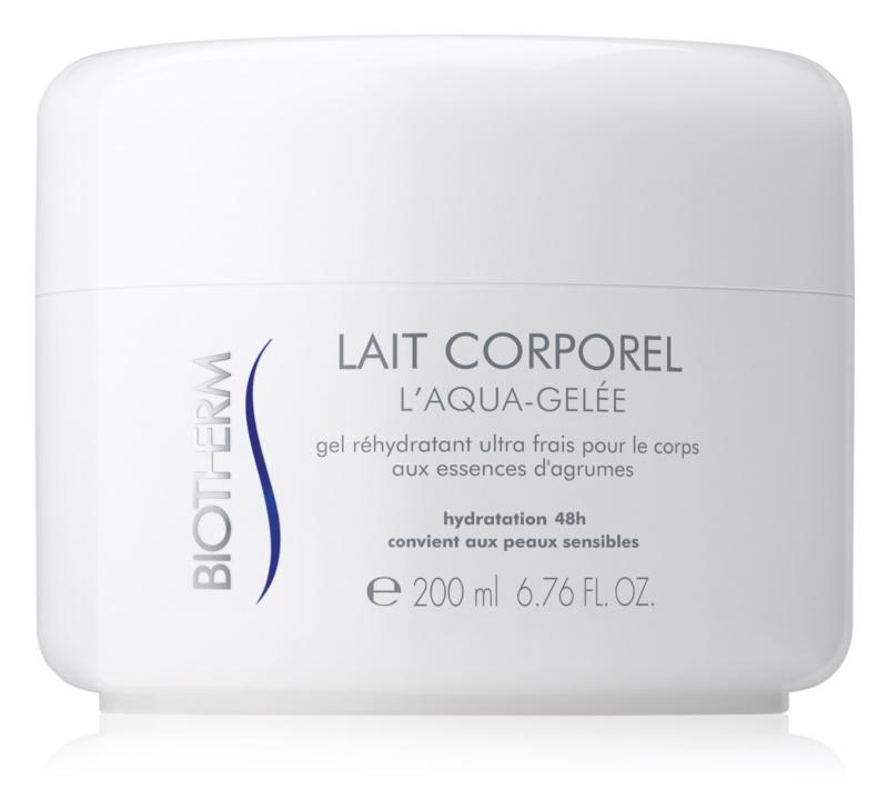 Biotherm Lait Corporel L'Aqua-Gelée hűsítő hidratáló krém az érzékeny bőrre