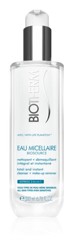 Biotherm Biosource Eau Micellaire micelárna čistiaca voda pre všetky typy pleti vrátane citlivej