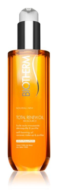 Biotherm Biosource Total Renew Oil aceite-espuma  limpiador