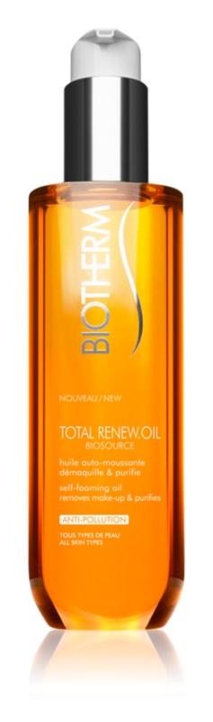 Biotherm Biosource Total Renew Oil reinigendes Schaum-Öl