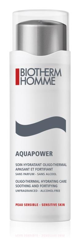 Biotherm Homme Aquapower hydratačná starostlivosť pre upokojenie a posilnenie citlivej pleti