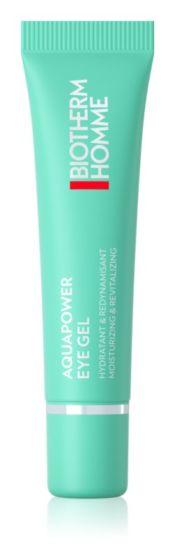 Biotherm Homme Aquapower Eye De-Puffer gel de olhos hidratante anti-inchaço
