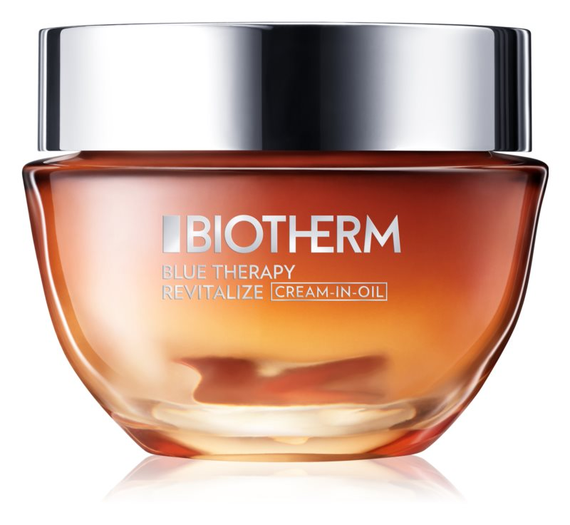 Biotherm Blue Therapy Cream-in-Oil hranilna obnovitvena krema za normalno in suho kožo