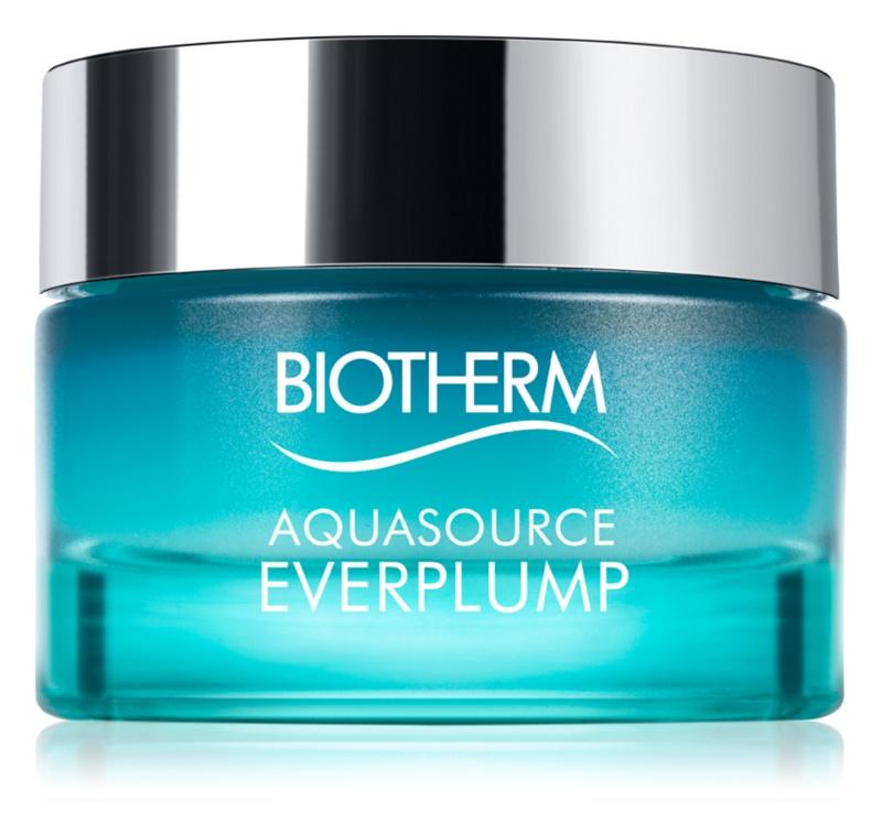 Biotherm Aquasource Everplump hydratačný krém pre okamžité vyhladenie pleti