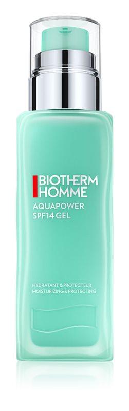 Biotherm Homme Aquapower gel hidratante de proteção SPF 15