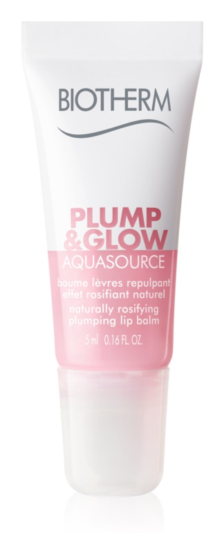 Biotherm Aquasource Plump & Glow baume lèvres repulpant effet rosifiant naturel