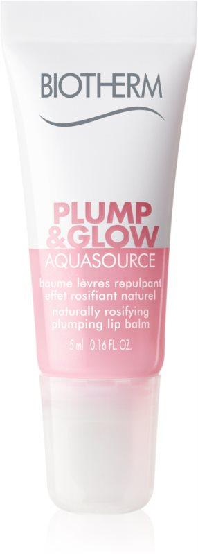Biotherm Aquasource Plump & Glow Lippenbalsam mit vergrößerndem Effekt