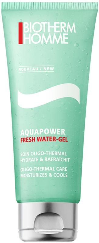 Biotherm Homme Aquapower frissítő arcgél hidratáló hatással