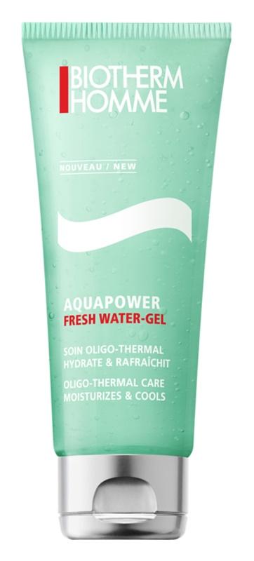 Biotherm Homme Aquapower gel rafraîchissant visage effet hydratant