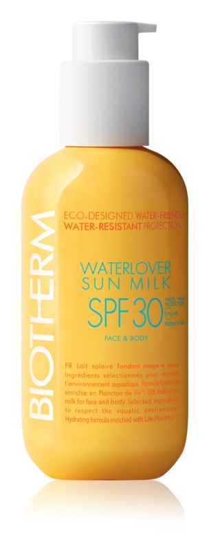Biotherm Waterlover Sun Milk lait solaire waterproof SPF 30