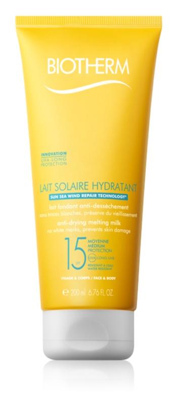 Biotherm Lait Solaire lait solaire visage et corps SPF 15