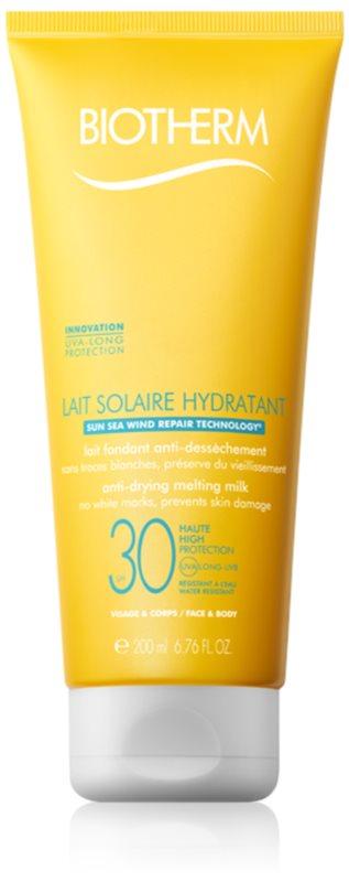 Biotherm Lait Solaire lait solaire visage et corps SPF 30