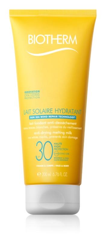 Biotherm Lait Solaire Sonnenlotion für Gesicht und Körper SPF 30
