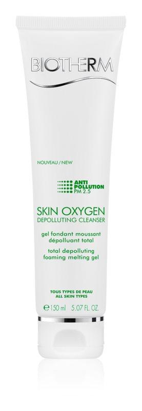 Biotherm Skin Oxygen Depolluting Cleanser gel fondant moussant dépolluant total