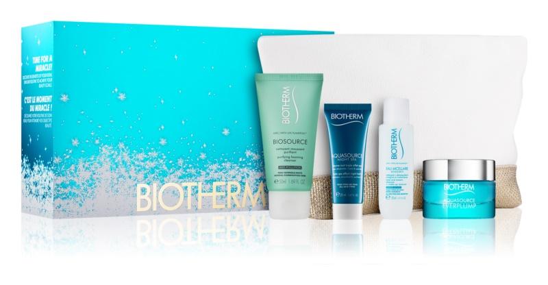 Biotherm Aquasource Everplump kit di cosmetici I.