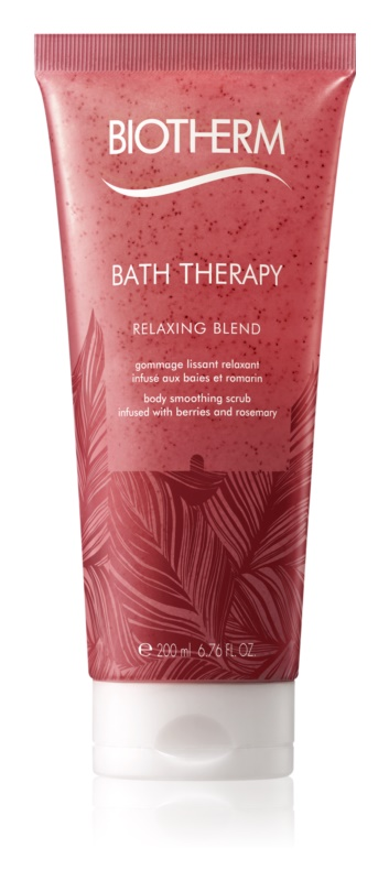 Biotherm Bath Therapy Relaxing Blend Body Scrub