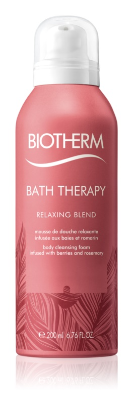 Biotherm Bath Therapy Relaxing Blend mousse detergente corpo