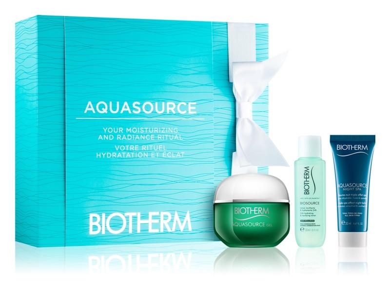 Biotherm Aquasource coffret X.