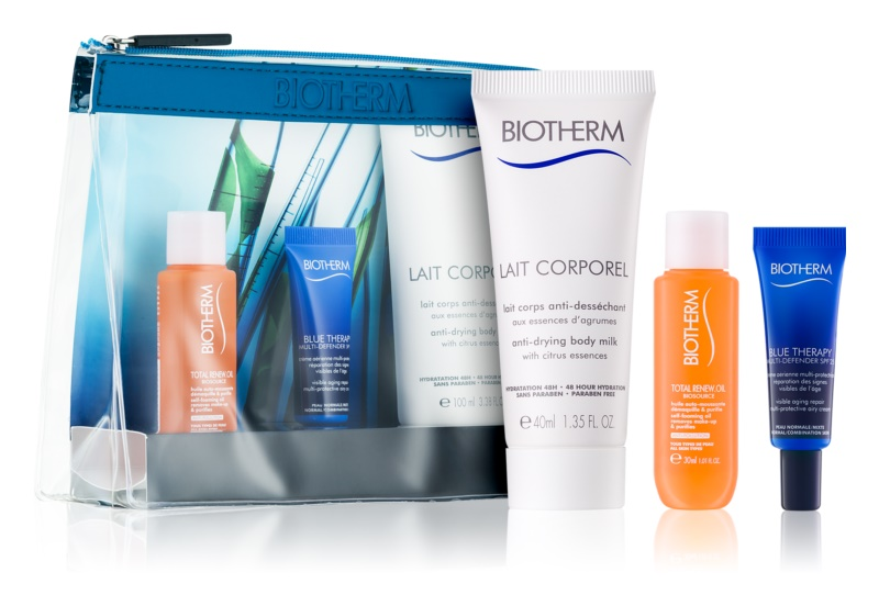 Biotherm Blue Therapy kit voyage VII.