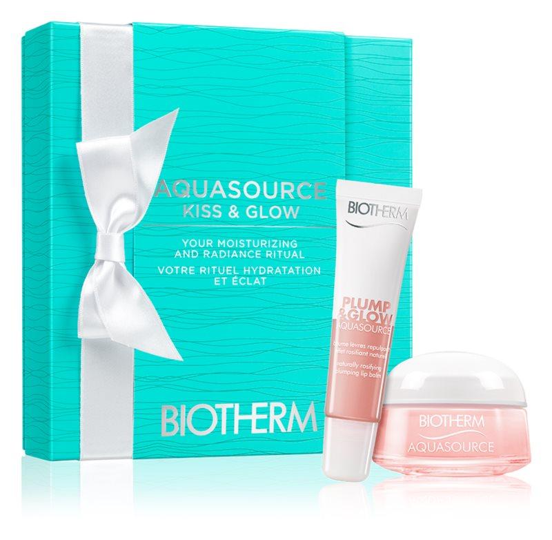Biotherm Aquasource Plump & Glow coffret cosmétique VIII.