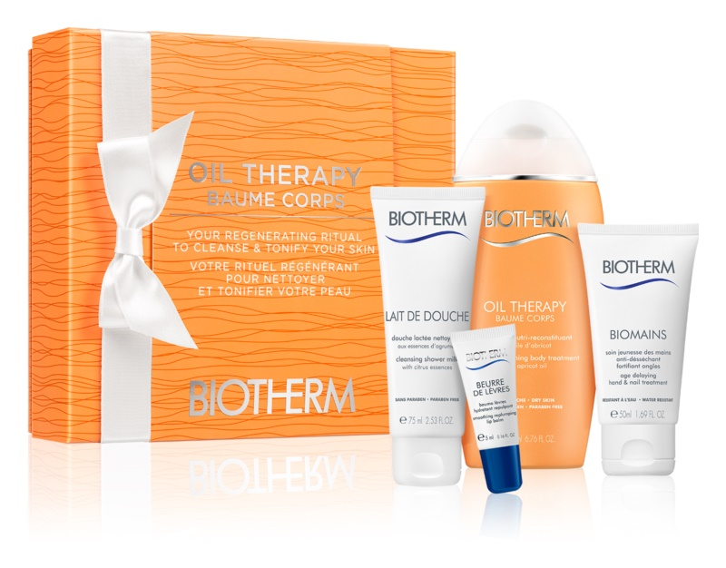 Biotherm Oil Therapy Baume Corps coffret cosmétique I.