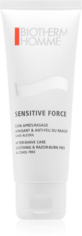 Biotherm Homme Sensitive Force Nyugtató alkoholmentes after-shave