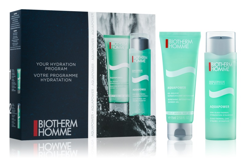 Biotherm Homme Aquapower lote cosmético IV.