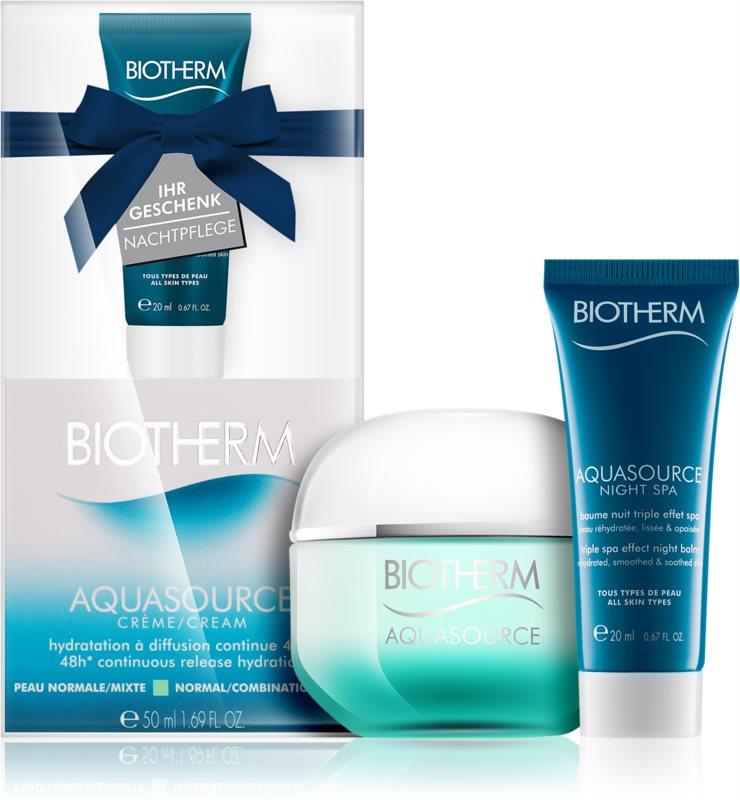 Biotherm Aquasource coffret cosmétique VIII.