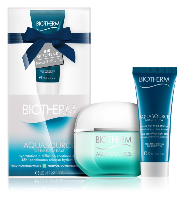 Biotherm Aquasource Kosmetik-Set  VIII.