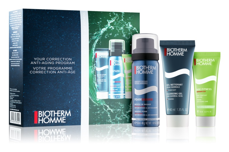 Biotherm Homme Age Fitness Advanced lote cosmético II.
