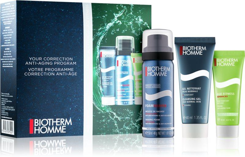 Biotherm Homme Age Fitness Advanced set de viaje II.