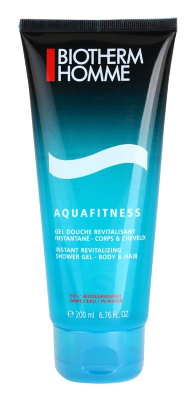 Biotherm Aquafitness гель для душу та шампунь 2 в 1
