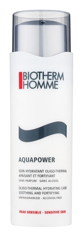 Biotherm Homme Aquapower hydratační péče pro zklidnění a posílení citlivé pleti