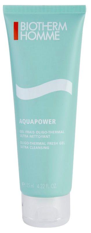 Biotherm Homme Aquapower gel nettoyant rafraîchissant visage