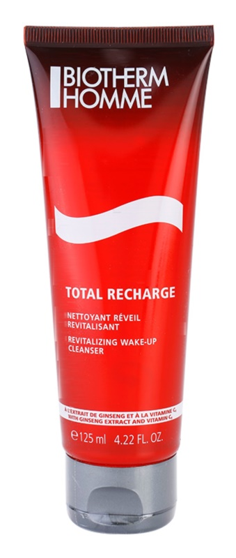 Biotherm Homme Total Recharge revitalizačný čistiaci gél