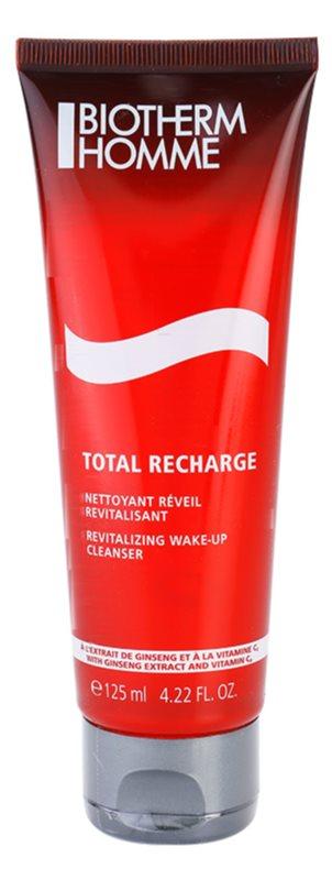 Biotherm Homme Total Recharge rewitalizujący żel oczyszczający