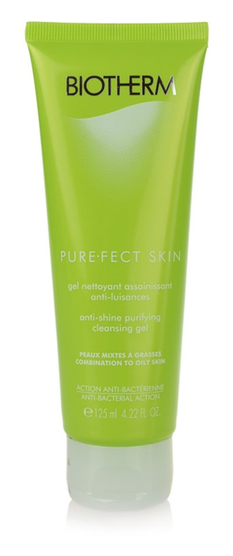 Biotherm PureFect Skin tisztító gél problémás és pattanásos bőrre