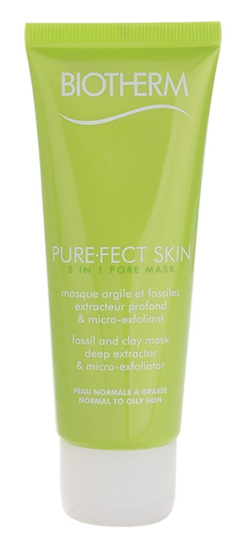 Biotherm PureFect Skin Cleansing Mask 2 In 1