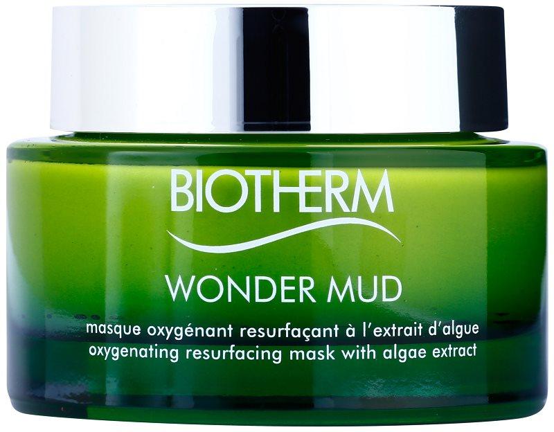 Biotherm Skin Best Wonder Mud oksigenacijska in obnovitvena blatna maska z izvlečkom alg
