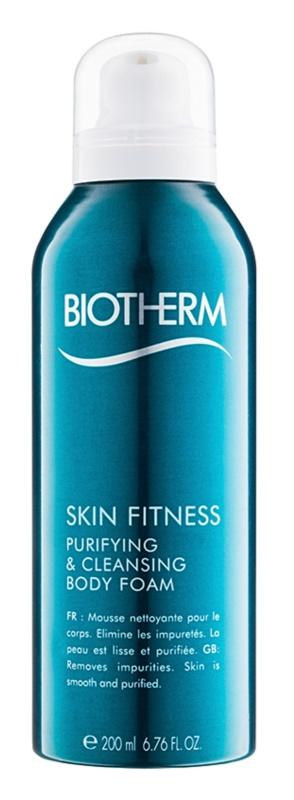 Biotherm Skin Fitness mousse de limpeza para corpo