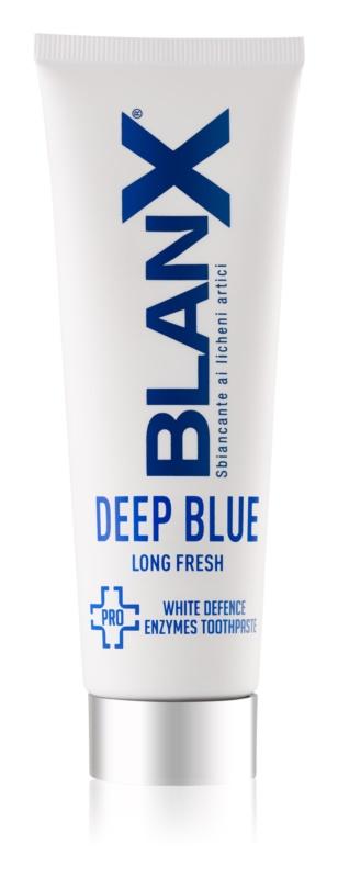 BlanX PRO Long Fresh dentifrice blanchissant pour une haleine fraîche