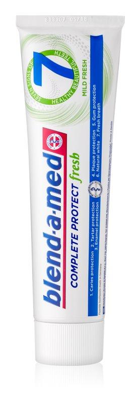 Blend-a-med Complete 7 Mild Fresh zubná pasta pre kompletnú ochranu zubov