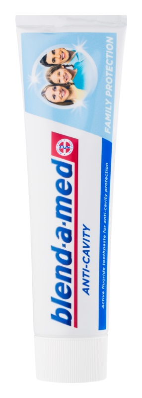 Blend-a-med Anti-Cavity Family Protection паста за зъби, защитаваща от зъбен кариес