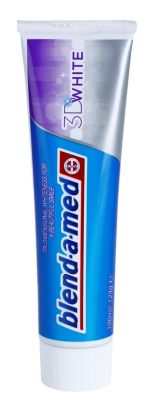 Blend-a-med 3D White zubní pasta s bělicím účinkem